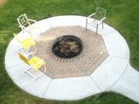 Concrete Patio Ideas With Fire Pit