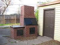 It is Easy to Make a Brick BBQ Pit Your Own | Fire Pit ...