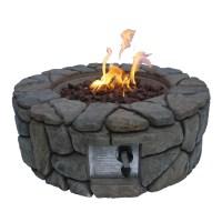 Ceramic Fire Pit Stones | Fire Pit Design Ideas