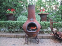 Chimney Fire Pit Clay | Fire Pit Design Ideas