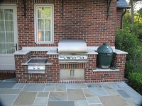 Custom Brick BBQ Grills | Fire Pit Design Ideas