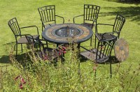 Fire Pit Table And Chairs Set | Fire Pit Design Ideas