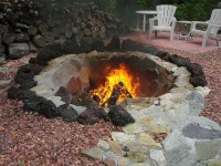 In Ground Fire Pit Plans   Fire Pit Design Ideas
