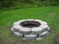 Old Rim Fire Pit | Fire Pit Design Ideas