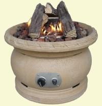 Outdoor Gas Fire Pit Ceramic Logs | Fire Pit Design Ideas
