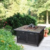 Uniflame Ceramic Tile Fire Pit | Fire Pit Design Ideas