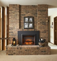 Fake Fireplace Insert: Logs and More Accessories for