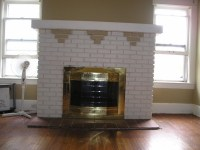 Best Way To Paint Brick Fireplace | Fireplace Designs