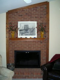 Brick Fireplace Remodel Pictures | Fireplace Designs