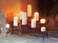 Candle Holders For Fireplace | Fireplace Designs