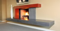 Concrete Fireplace Surround DIY | Fireplace Designs