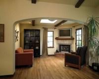 Corner Brick Fireplace Makeover | Fireplace Designs