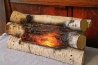 Fake Electric Fireplace Logs | Fireplace Designs