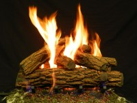 Fake Logs For Gas Fireplace | Fireplace Designs