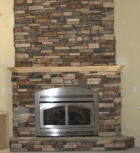 Fake Stone Fireplace Design | Fireplace Designs