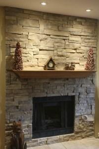 Fake Stone Fireplace Mantel | Fireplace Designs