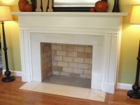 Faux Fireplace Mantel DIY | Fireplace Designs