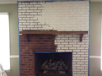 Fireplace Brick Paint Colors | Fireplace Designs