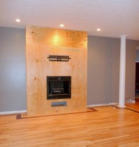 How To Build A Gas Fireplace Surround | Fireplace Designs