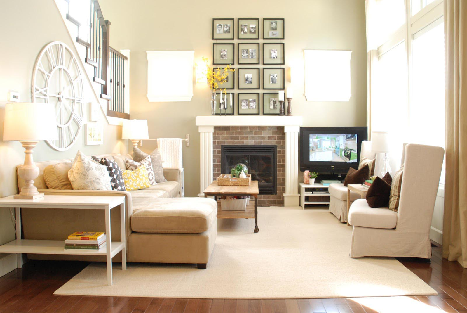 How To Decorate Around A Corner Fireplace Fireplace Designs