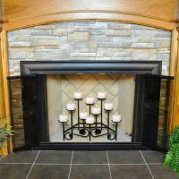 Iron Candle Holders For Fireplace   Fireplace Designs