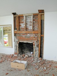 Remodel Brick Fireplace Before And After | Fireplace Designs