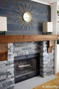 Corner Brick Fireplace Makeover | FIREPLACE DESIGN IDEAS