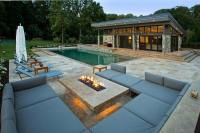 Deck Gas Fire Pit | FIREPLACE DESIGN IDEAS