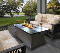 Deck Propane Fire Pit | FIREPLACE DESIGN IDEAS