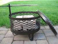 Build Your Own Portable Fire Pit. DIY Fire Pit FIREPLACE ...