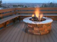 DIY Outdoor Propane Fire Pit | FIREPLACE DESIGN IDEAS