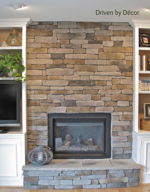 Medium Of Stone Fireplace Ideas