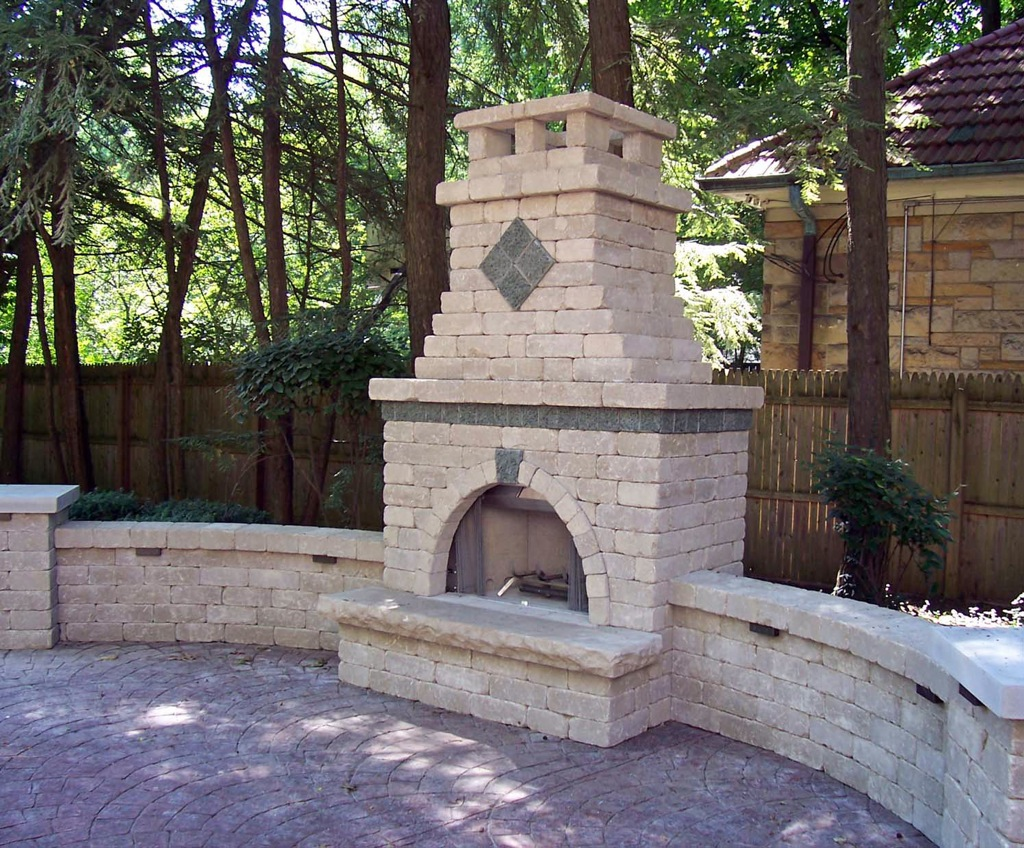 Backyard Fireplace Designs Outdoor Brick Fireplace Designs Fireplace Design Ideas