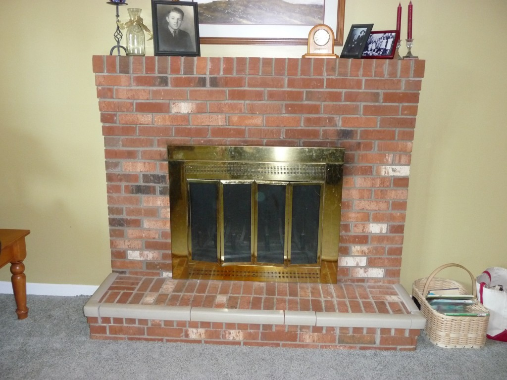 Update Old Brick Fireplace Best Red Brick Fireplace Update Ki24 Roccommunity