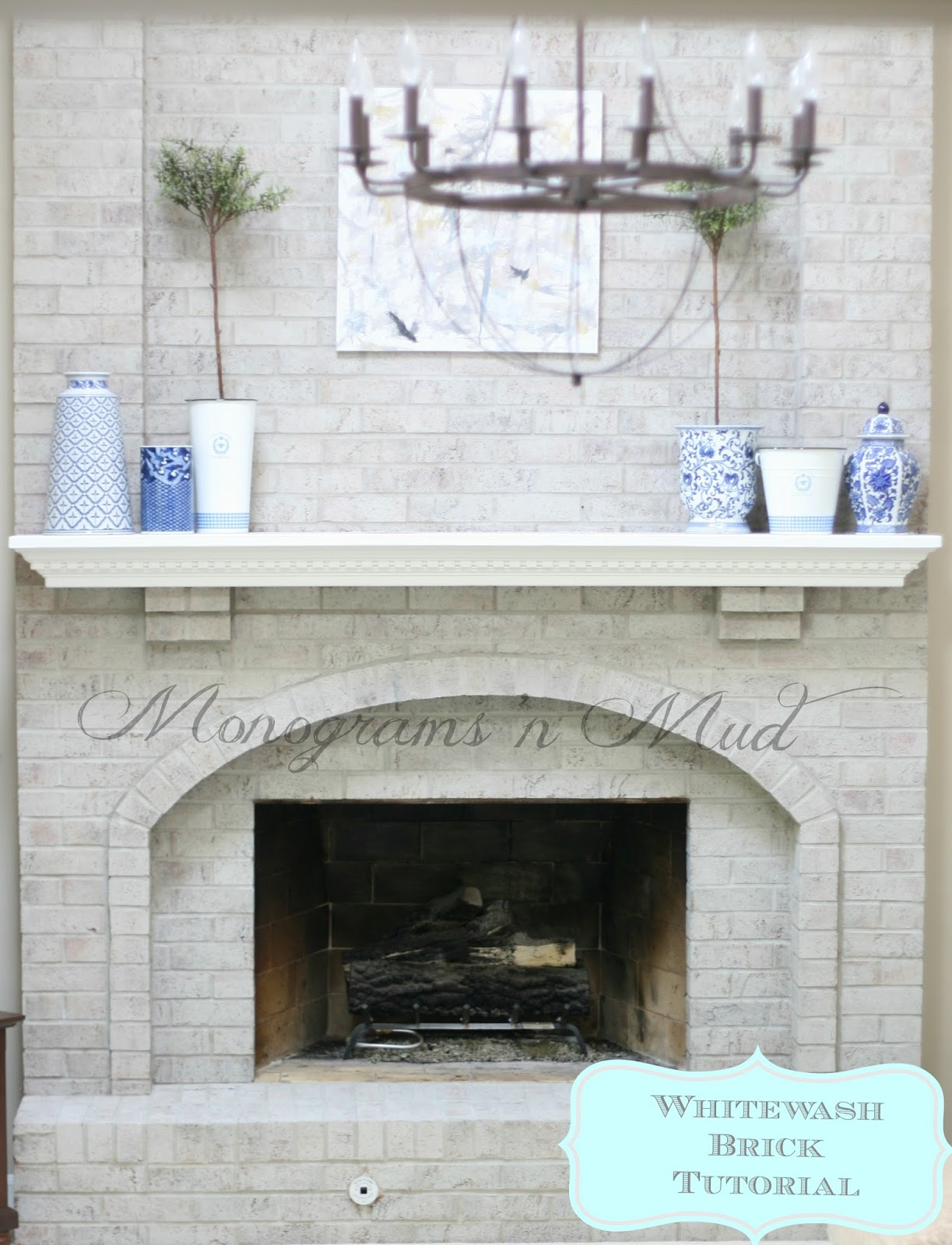 Lime Wash Brick Fireplace Whitewash Brick Fireplace Fireplace Design Ideas