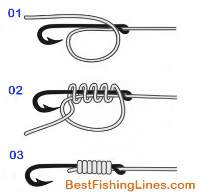 How to tie fishing hook to a line 6 different ways for How to tie a fishing lure