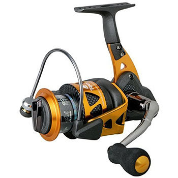 Spinning reel for braided line