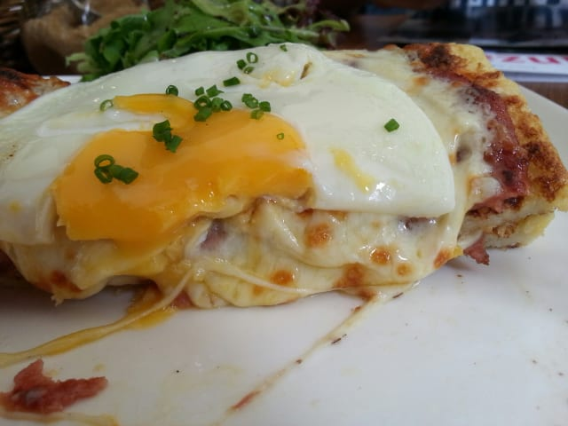Cheesey croque madame frenzy@Red Bean Bag Cafe, Publika
