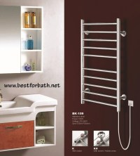 Wall Mount Electric Towel Warmer. BK-109 - BEST for BATH