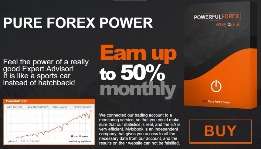 PowerfulForex EA Review - A Very Profitable And Reliable Forex Expert Advisor And FX Trading Robot - Earn Up To 50% Monthly