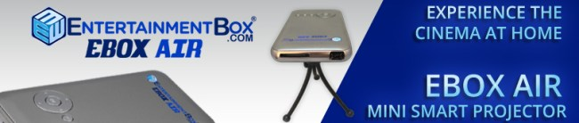 EBOX AIR MINI SMART PROJECTOR