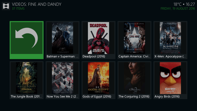 Install Fine and Dandy Kodi Addon