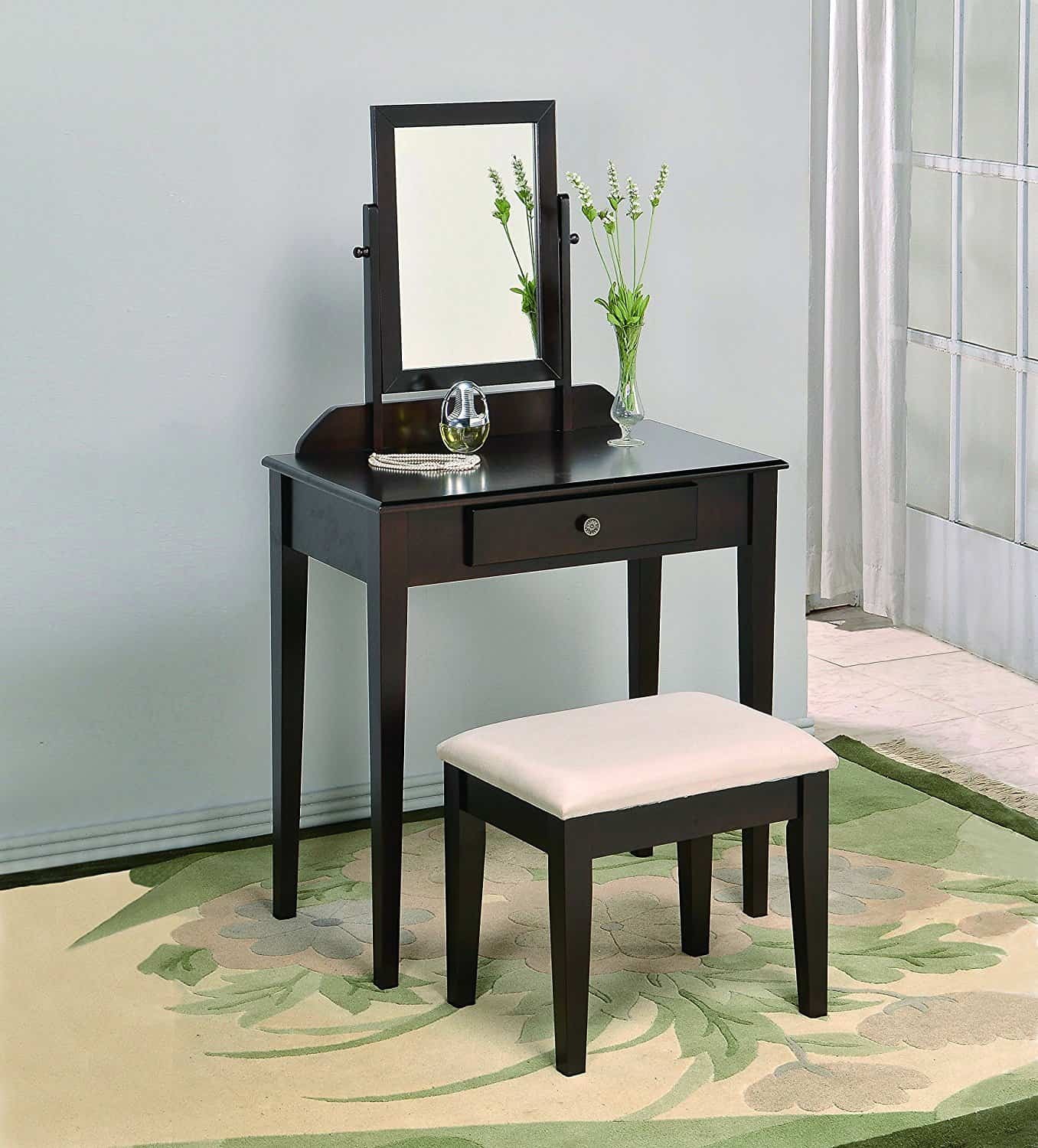 Small Vanity Dressing Table Best Vanity Tables For Small Spaces Best For Small Spaces
