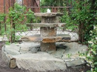 DIY Backyard Fountain | Fountain Design Ideas
