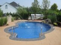 Inground Pool Fountains | Fountain Design Ideas