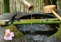 Japanese Water Fountain Bamboo | Fountain Design Ideas