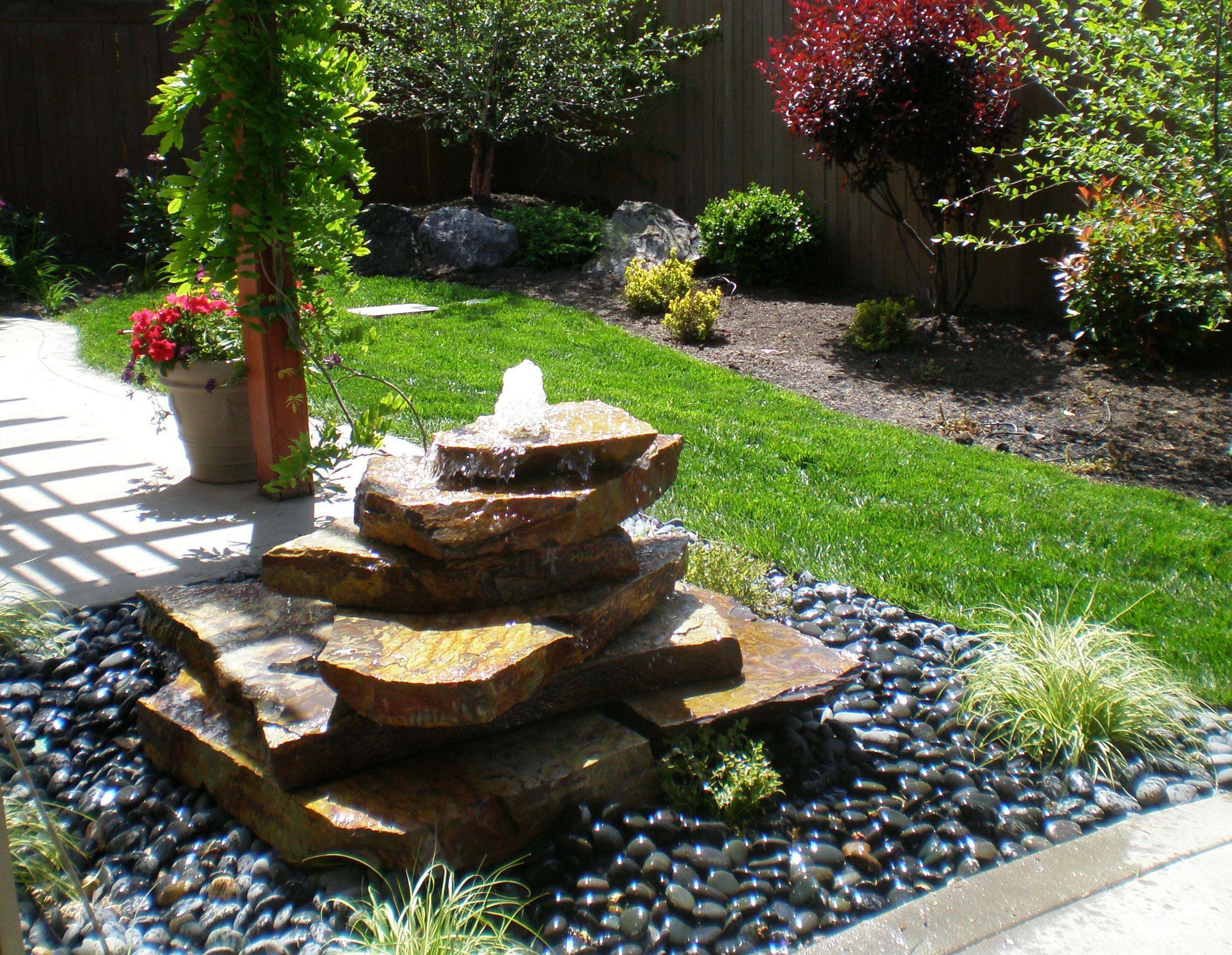 Outdoor Patio Fountains Fountain Design Ideas