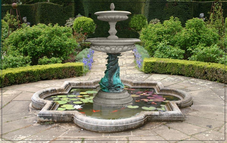 Stone Patio Fountains Fountain Design Ideas