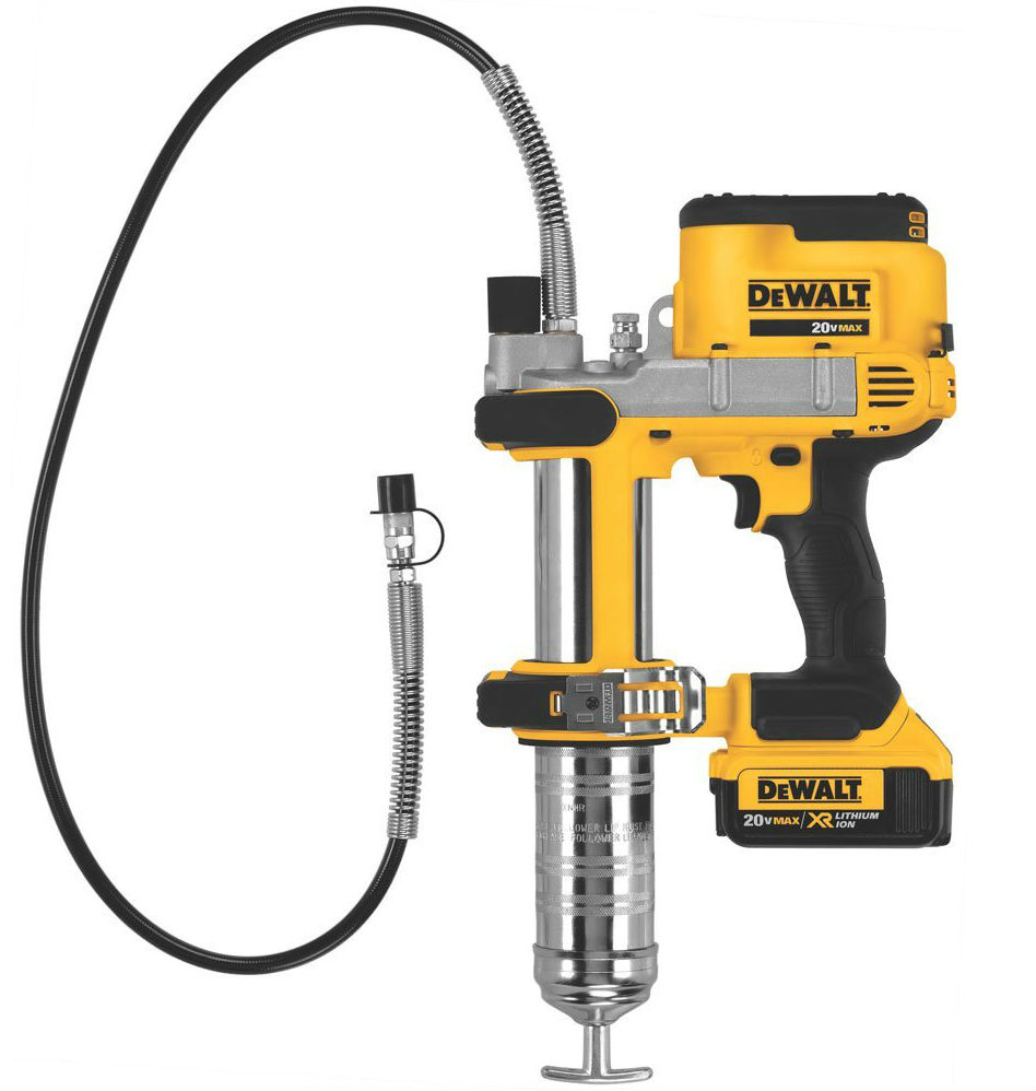 Electric Grease Gun Dewalt Dcgg571m1 20 Volt Max Lithium Ion Grease Gun