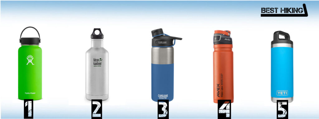 Best Water Bottles for Hiking and Backpacking in 2019 - Best Hiking